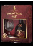 Karpatské brandy špeciál 40% s pohárom