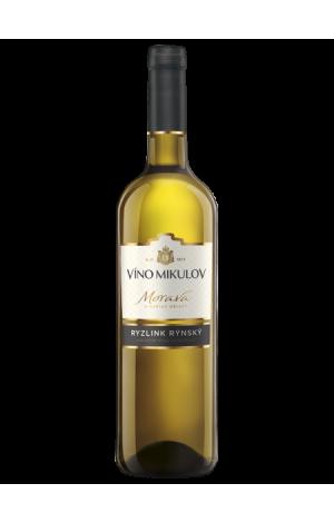 Víno Mikulov Ryzlink rýnský