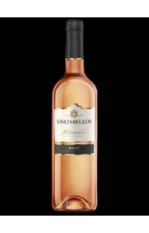 Víno Mikulov Frankovka rosé