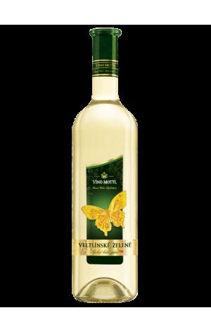 Víno Motýl Veltlínske zelené