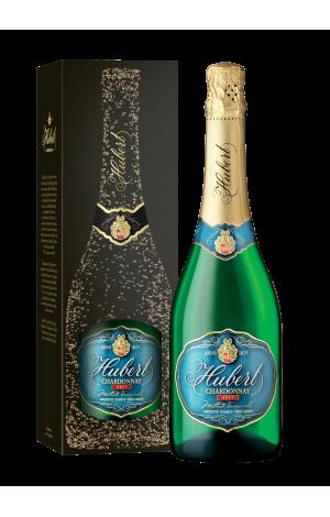 Hubert Chardonnay v darčekovom balení
