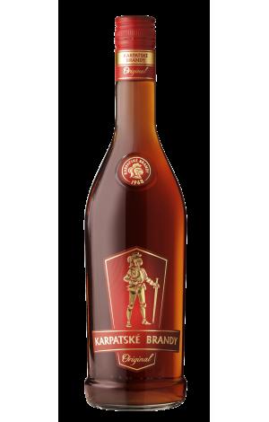 Karpatské brandy Original 36%